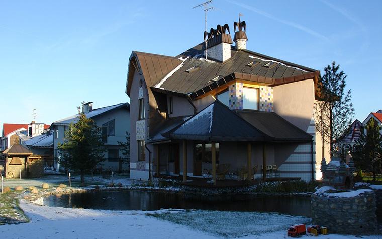 Загородный дом. фасад из проекта , фото №22619