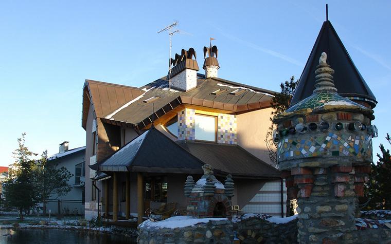 Загородный дом. фасад из проекта , фото №22620