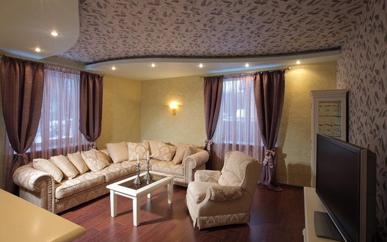 интерьер гостиной - фото № 23223