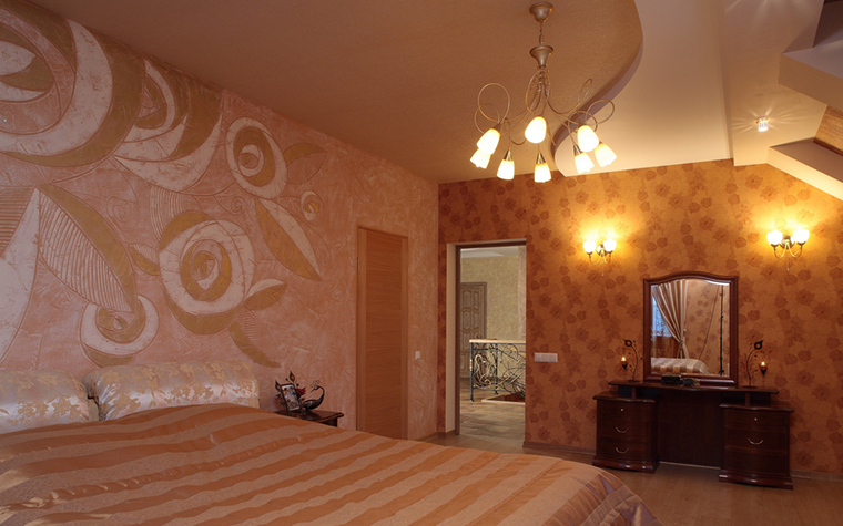 интерьер спальни - фото № 23225