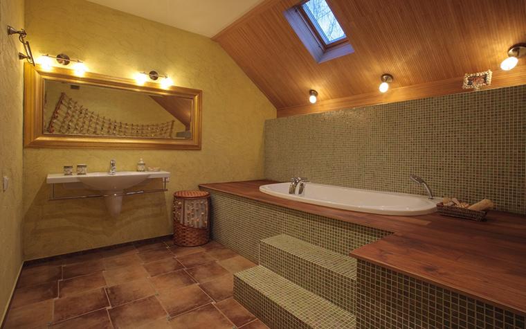 Загородный дом. ванная из проекта , фото №23226