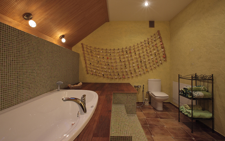 Загородный дом. ванная из проекта , фото №23227