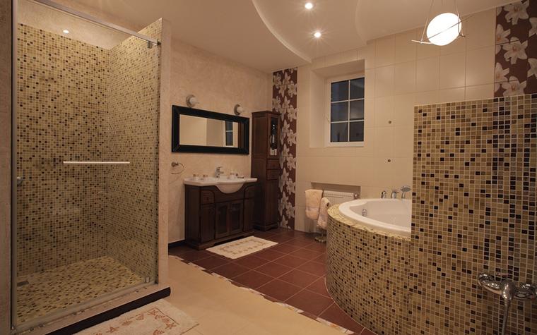 Загородный дом. ванная из проекта , фото №23228