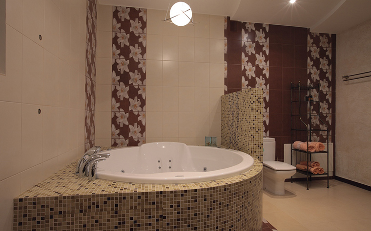 Загородный дом. ванная из проекта , фото №23229