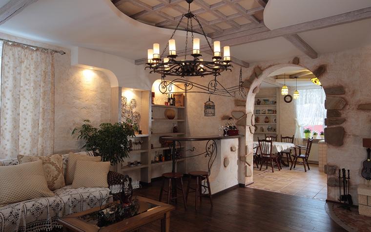 Загородный дом. гостиная из проекта , фото №23235