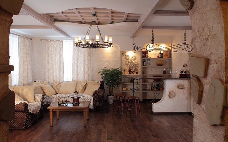 Загородный дом. гостиная из проекта , фото №23212