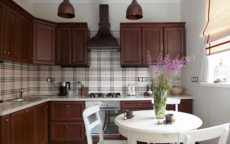 Фото № 23512 кухня  Загородный дом