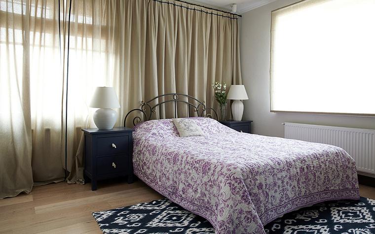 Фото № 23504 спальня  Загородный дом