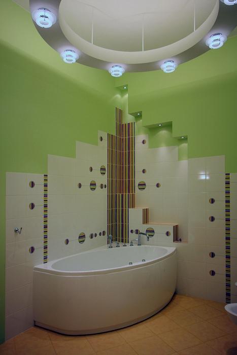 12 угловых ванн в интерьере