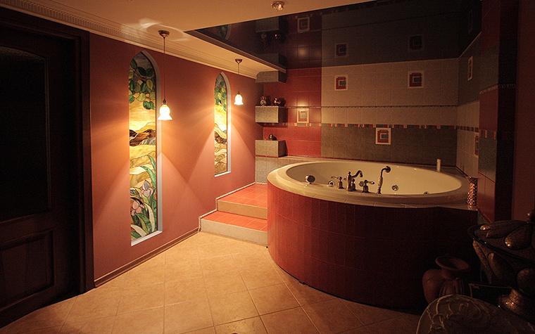 Загородный дом. ванная из проекта , фото №23939