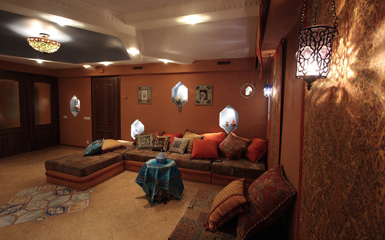 Загородный дом. гостиная из проекта , фото №23930