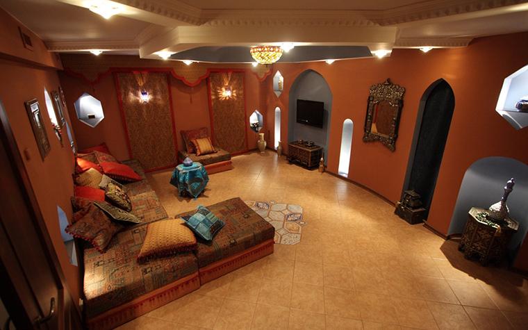 Загородный дом. гостиная из проекта , фото №23932