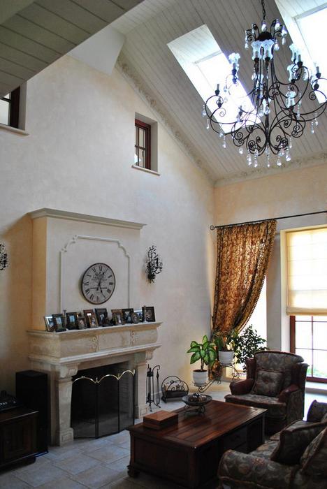Фото № 23831 гостиная  Загородный дом