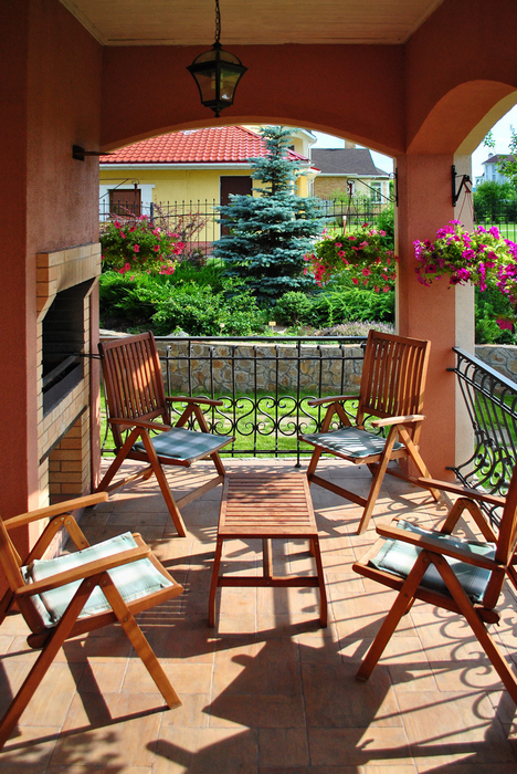 Фото № 23837 терраса   Загородный дом