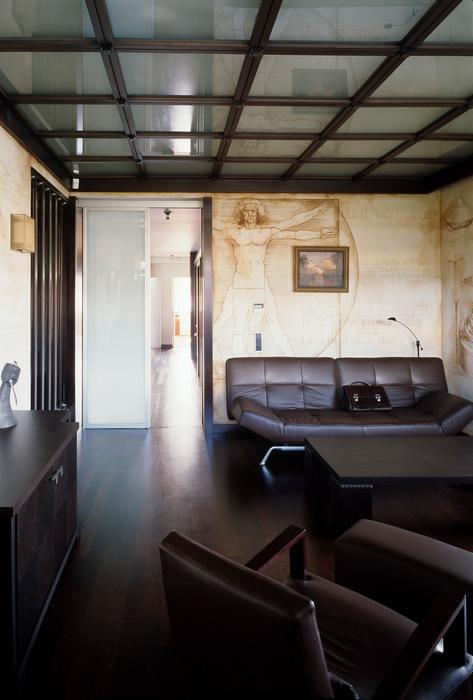 Загородный дом. кабинет из проекта , фото №24048