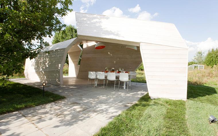 Загородный дом. беседка из проекта , фото №24141