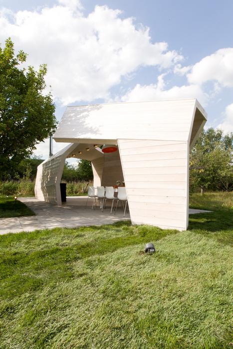 Загородный дом. беседка из проекта , фото №24142