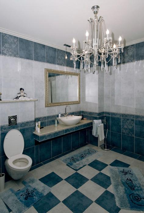 Фото № 24565 ванная  Загородный дом