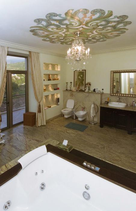 Фото № 24570 ванная  Загородный дом