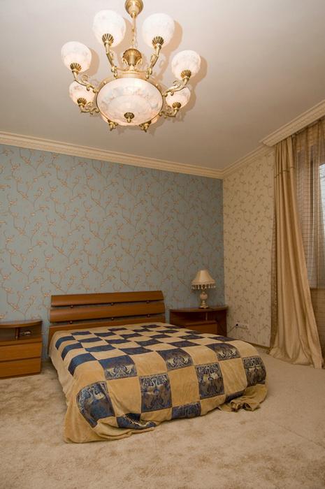 Фото № 24580 спальня  Загородный дом