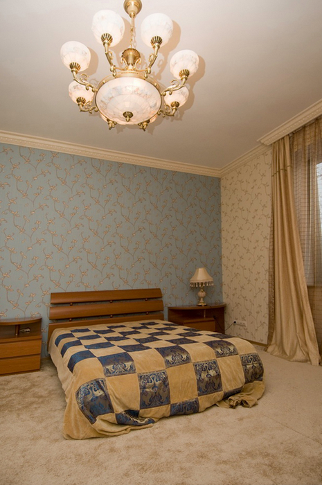 интерьер спальни - фото № 24580