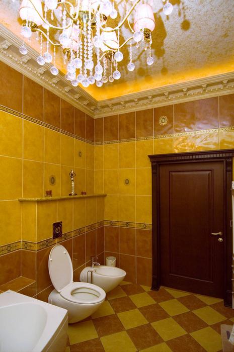 Фото № 24568 ванная  Загородный дом