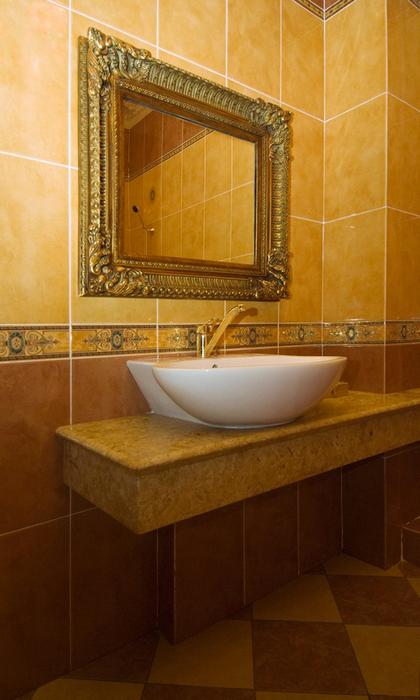 Фото № 24569 ванная  Загородный дом