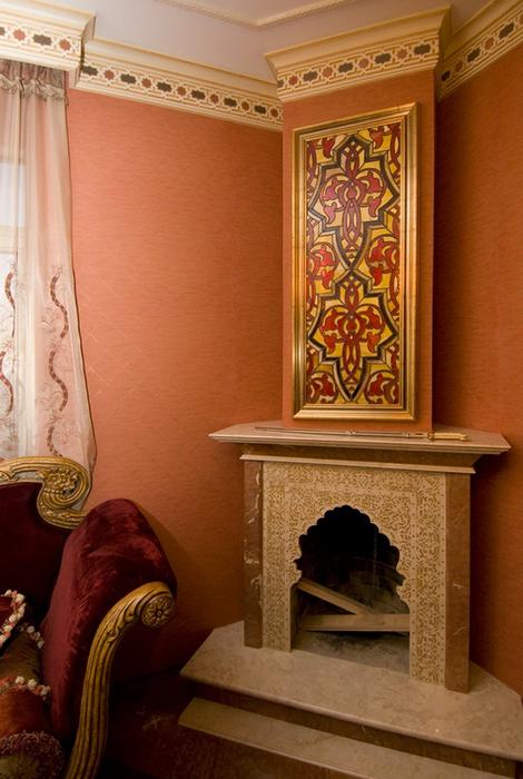 интерьер гостиной - фото № 24560