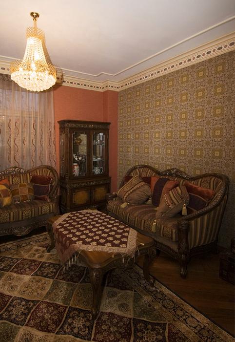 Фото № 24561 гостиная  Загородный дом