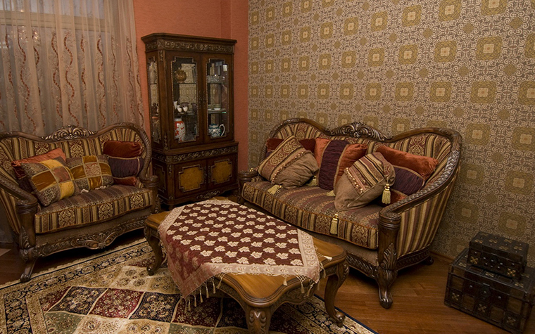 интерьер гостиной - фото № 24562