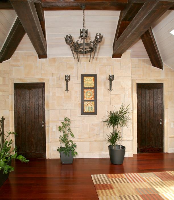 Загородный дом. холл из проекта , фото №24673