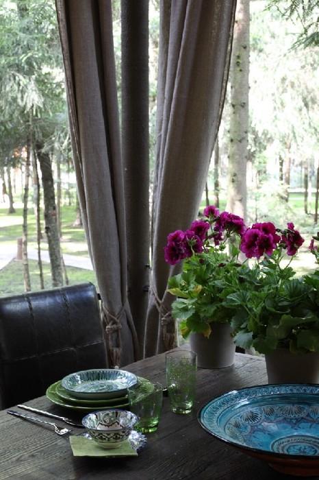 Террасы в загородном доме
