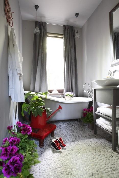 Загородный дом. ванная из проекта , фото №24795