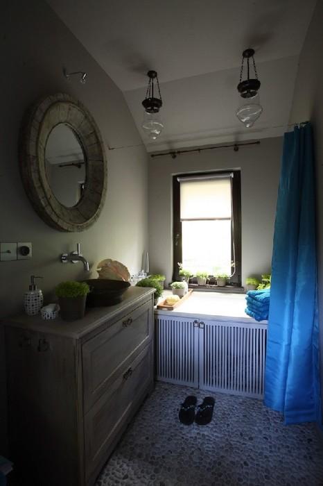 Загородный дом. ванная из проекта , фото №24798
