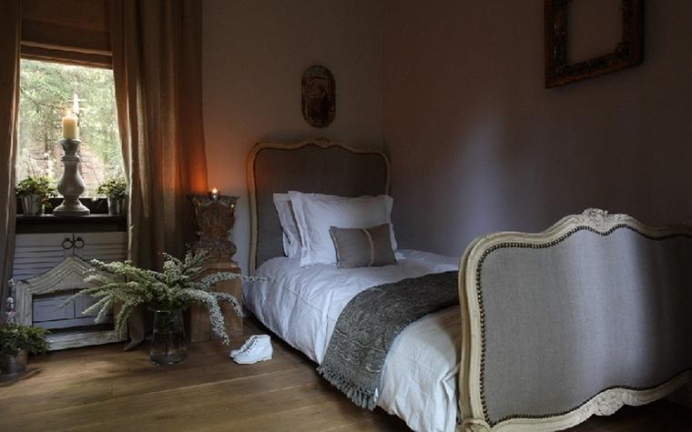 Загородный дом. спальня из проекта , фото №24793