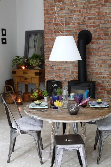 Фото № 24823 кухня  Загородный дом