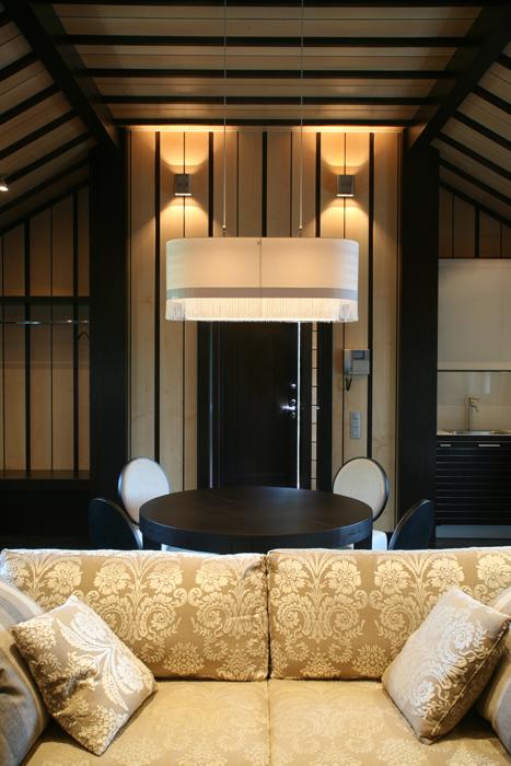 Дизайн потолков из дерева