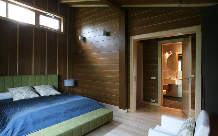 Загородный дом. спальня из проекта , фото №27023