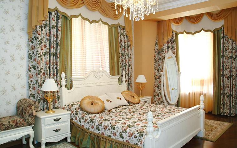 интерьер спальни - фото № 25045