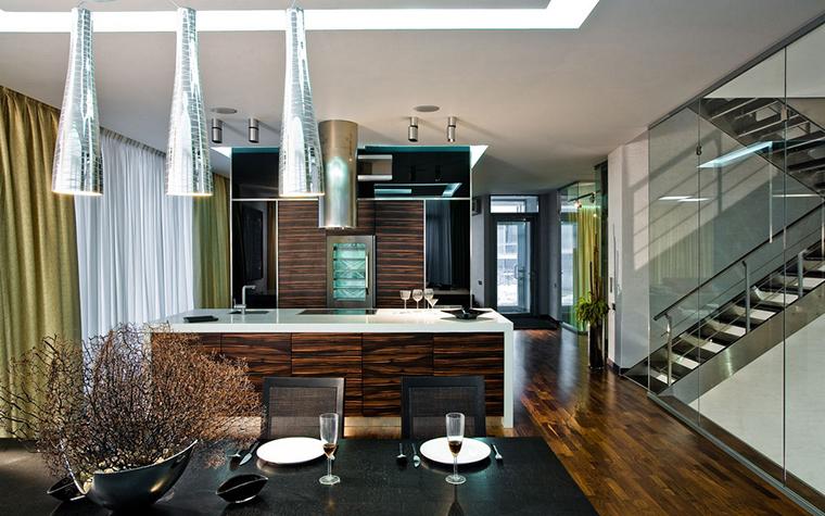 Загородный дом. кухня из проекта , фото №25267