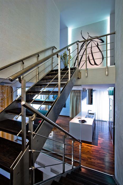 Загородный дом. холл из проекта , фото №25183