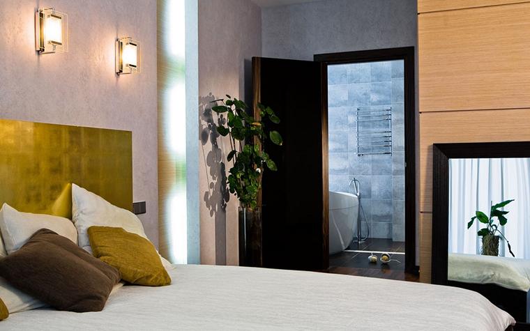 Загородный дом. спальня из проекта , фото №25189