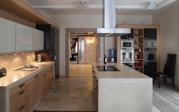 Фото № 25542 кухня  Загородный дом