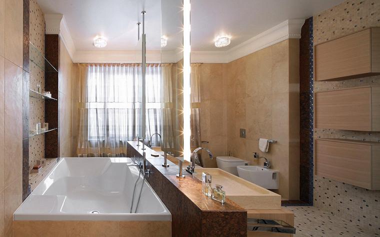 Фото № 25528 ванная  Загородный дом