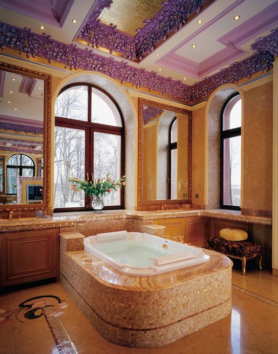 Загородный дом. ванная из проекта , фото №25613