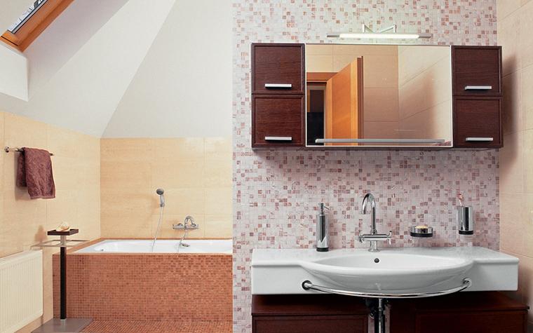 Загородный дом. ванная из проекта , фото №25720