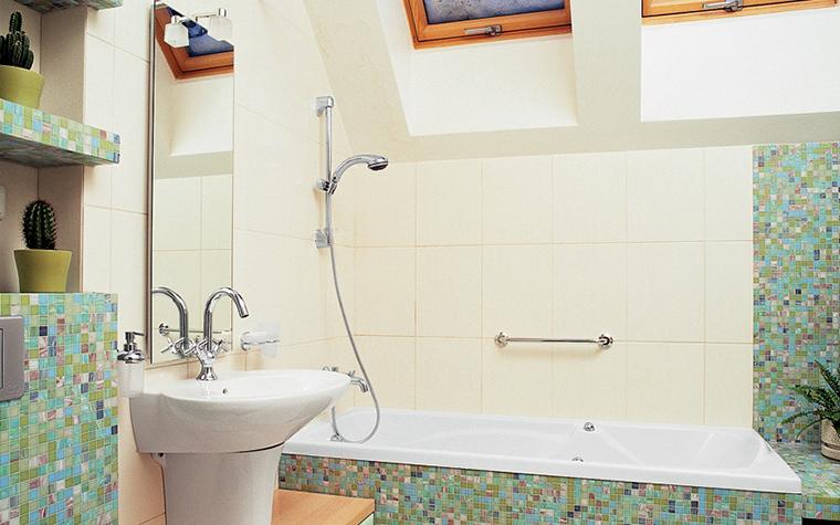 Загородный дом. ванная из проекта , фото №25721