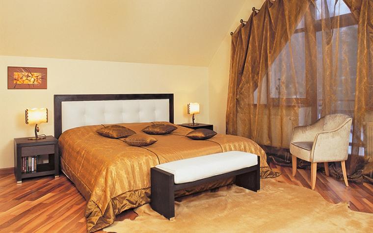 Загородный дом. спальня из проекта , фото №25715