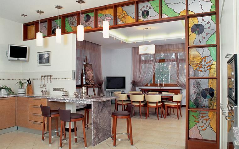Загородный дом. кухня из проекта , фото №25717