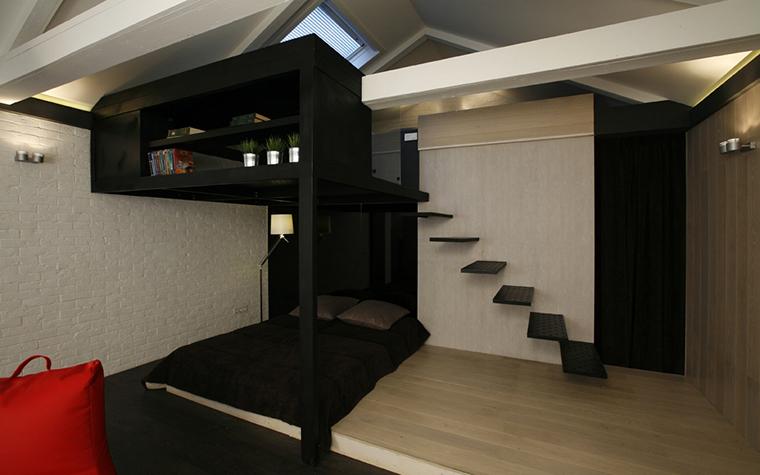 интерьер спальни - фото № 25757